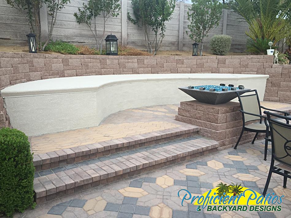 Las Vegas Pavers Hardscape & Retaining Wall Design