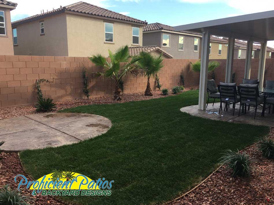 Landscaping Company Las Vegas Hardscapes Proficient Patios
