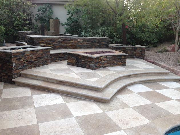 The elements of great backyard design proficient patios backyard designs - Critical elements for a backyard landscaping ...
