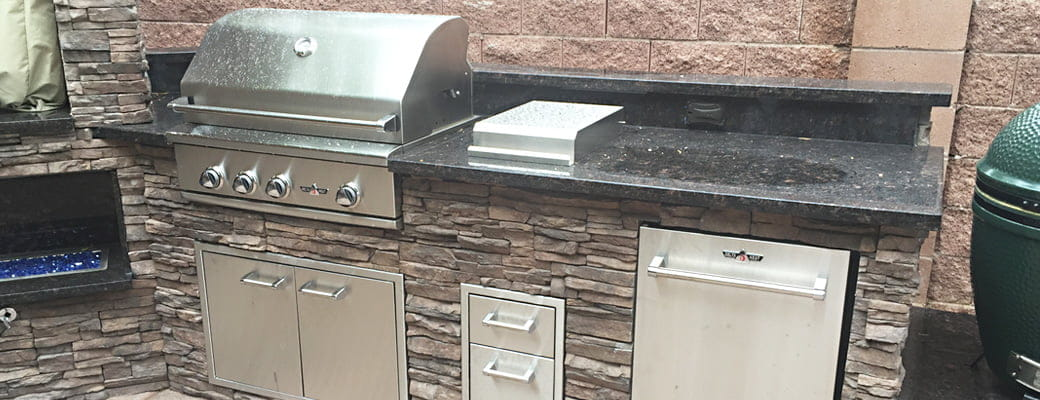 Custom Las Vegas Outdoor Kitchens & BBQ Islands | Proficient Patios
