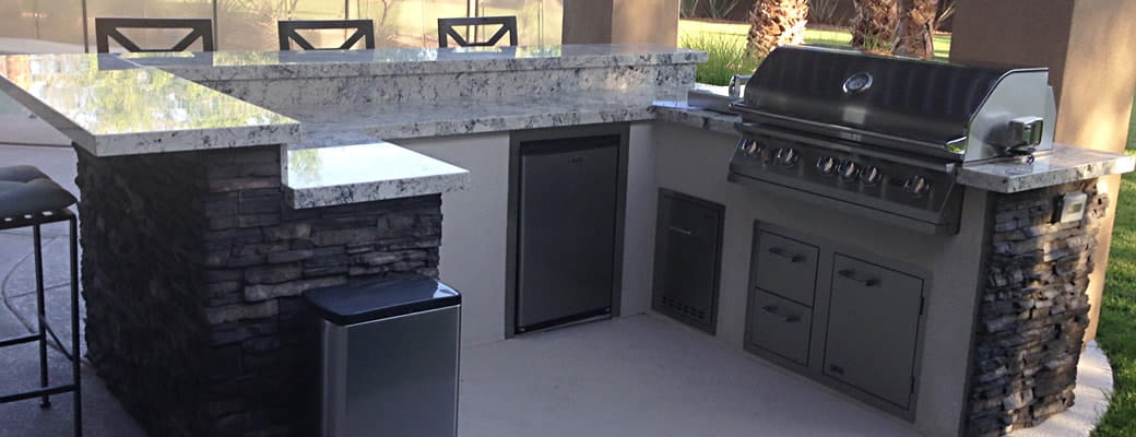 Custom Las Vegas Outdoor Kitchens & BBQ Islands | Proficient ...