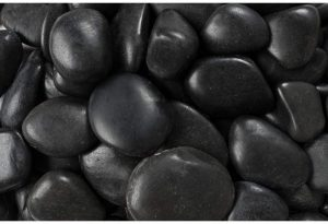 Black Polished Rock