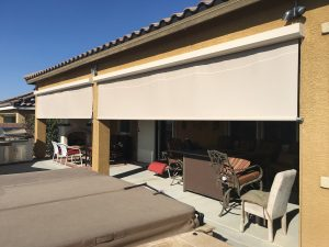 Retractable Shade Screen